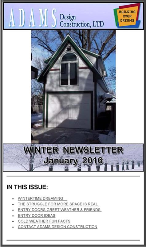 Click here for our 2015-2016 Winter Newsletter