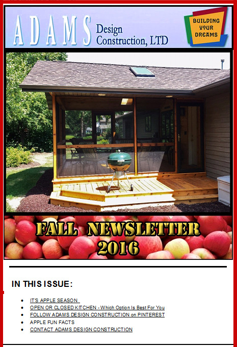 Click here for our 2016 Fall Newsletter