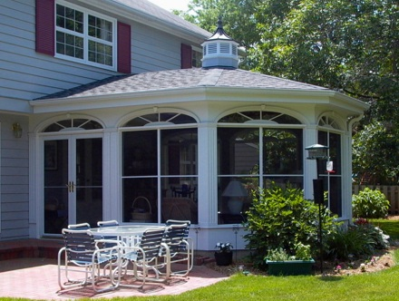 Sun Room Addition exterior