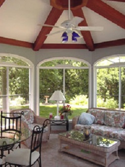 Sun Room Addition interior